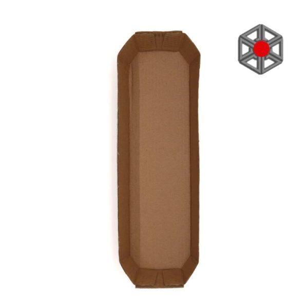 bandeja-de-carton-tricolor-280x80x35-alzado